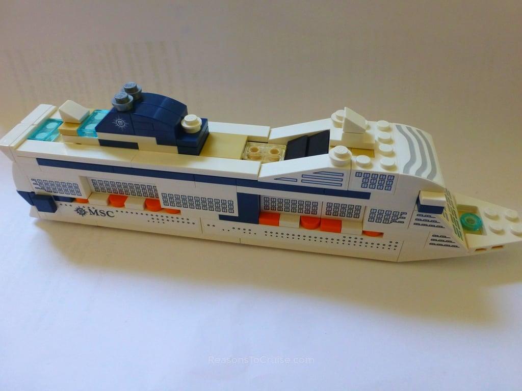 LEGO MSC Meraviglia model