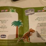 MSC Cruises children's menu (green)