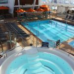 Covered pool on Quantum of the Seas