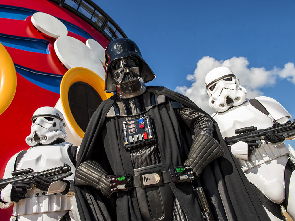 Star Wars theme on Disney Cruise Line