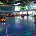 Dodgems in SeaPlex