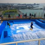 FlowRider surf simulator on Anthem of the Seas