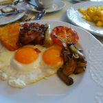 A fry-up for breaskfast on MSC Preziosa