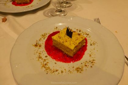 Dessert on MSC Preziosa