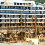 Mangled cabins of Costa Concordia
