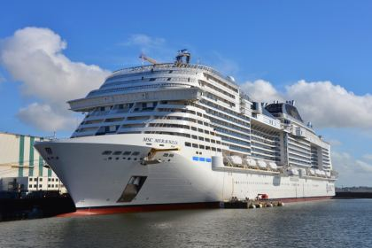 MSC Meraviglia under construction
