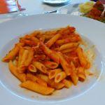 Pasta bolognese on MSC Preziosa