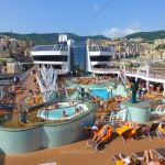 Pool deck on MSC Preziosa