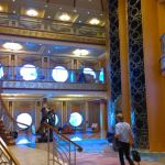 Disney Magic atrium