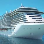 Front rendering of MSC Seaview