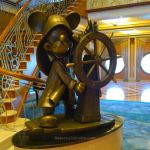 Helmsman Mickey statue