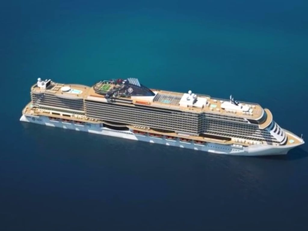 MSC Seaside rendering