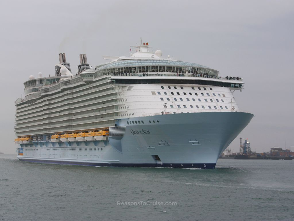 Oasis of the Seas in Southampton