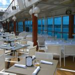 Poolside dining on Azamara Quest