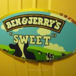 "The ""Sweet"" cabin door sign on cabin 6305"