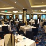 Elegant dining rooms on Norwegian Escape