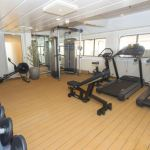 Fitness Room on MS Spitsbergen