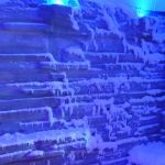 Inside the snow room on Norwegian Escape
