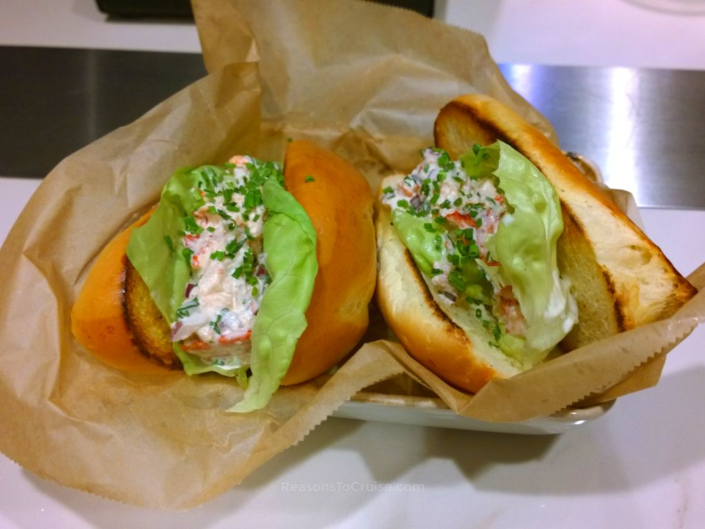 My recommendation would be to try the lobster rolls. Lobster smothered ...
