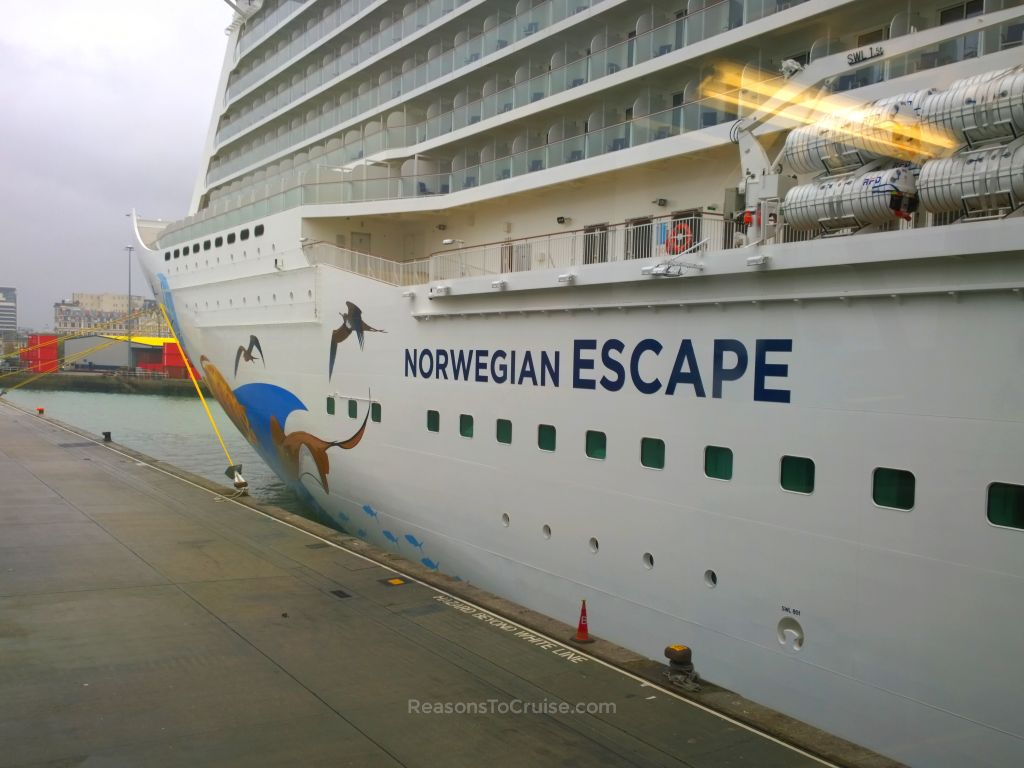 Norwegian Escape in Southampton