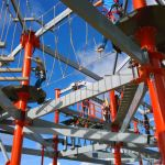 Norwegian Escape's ropes course
