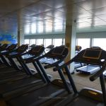 Running machines on Norwegian Escape