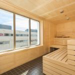 Sauna on MS Spitsbergen