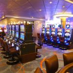 The casino on Norwegian Escape