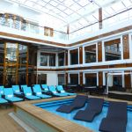 The Haven courtyard on Norwegian Escape