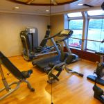 Fitness room on Nordlys