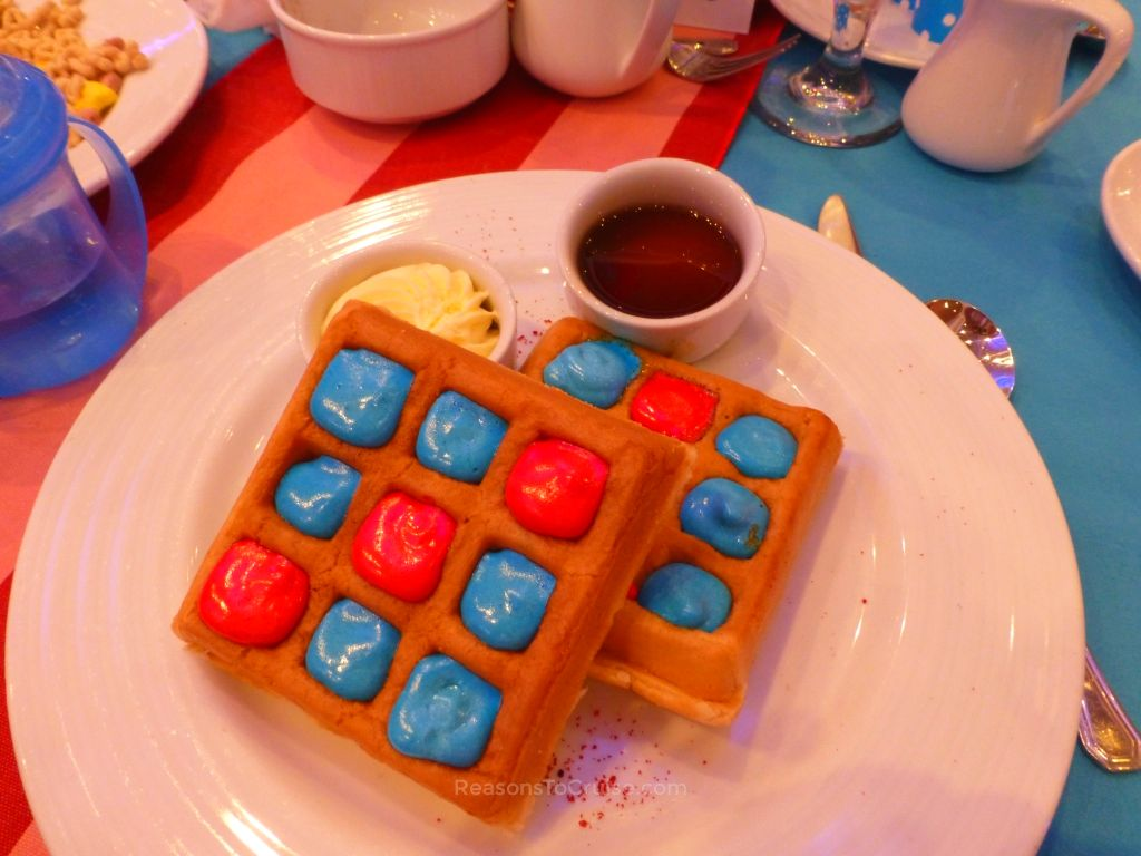 From There to Here, From Here to There, Funny Belgian Waffles are Everywhere