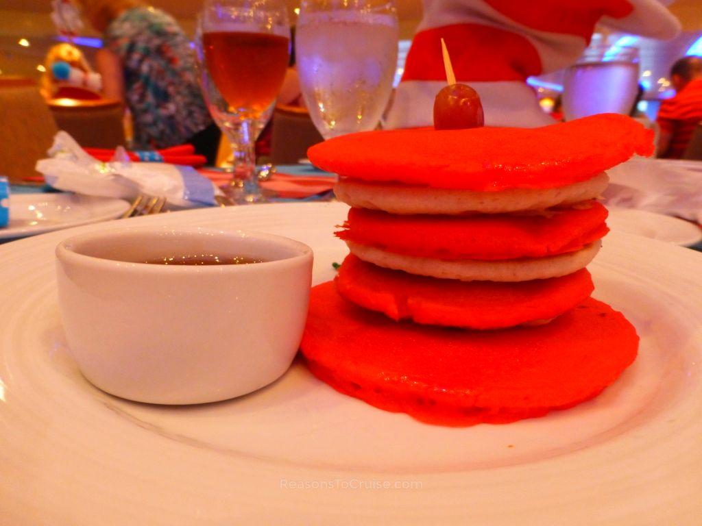 Truffula Tree Pancakes