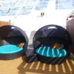 Love seats in Serenity on Carnival Breeze
