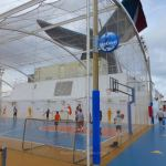 SkyCourt on Carnival Breeze