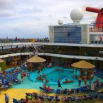 The Pool Deck on Carnival Breeze