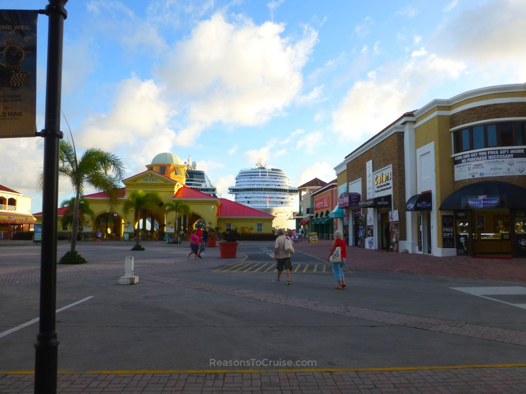 8 reasons to cruise the caribbean on carnival breeze for Port zante st kitts