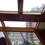 My disappointing view from an Amsterdam canal boat