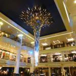Starburst sculpture in the Atrium