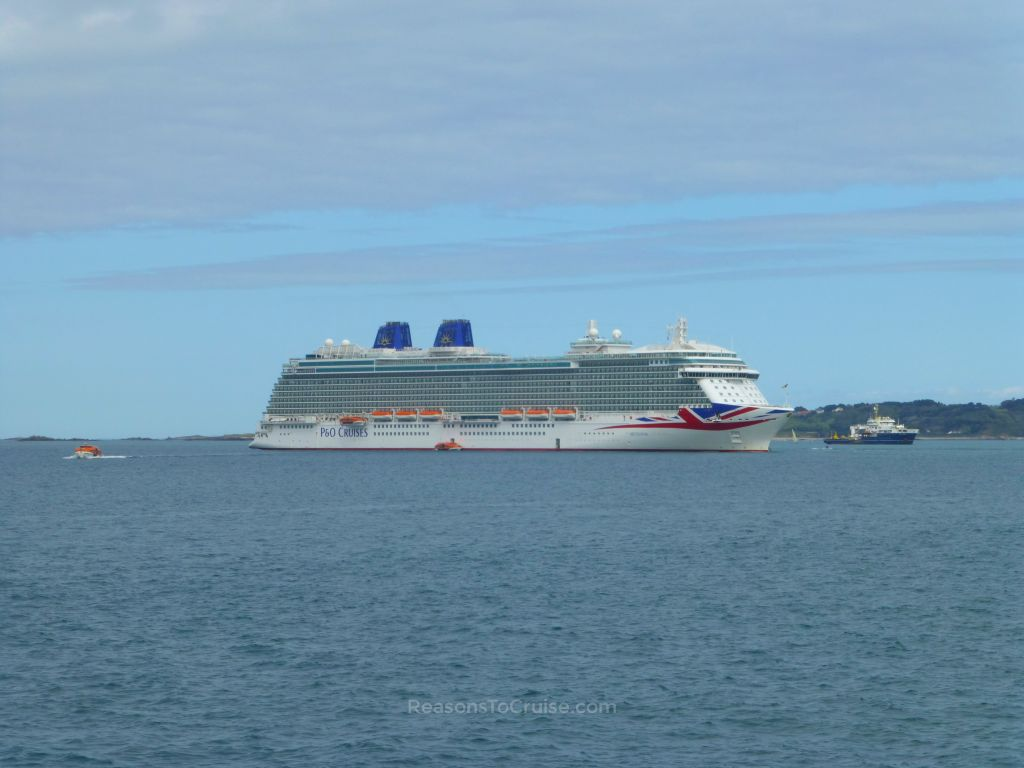Britannia in St Peter Port, Guernsey
