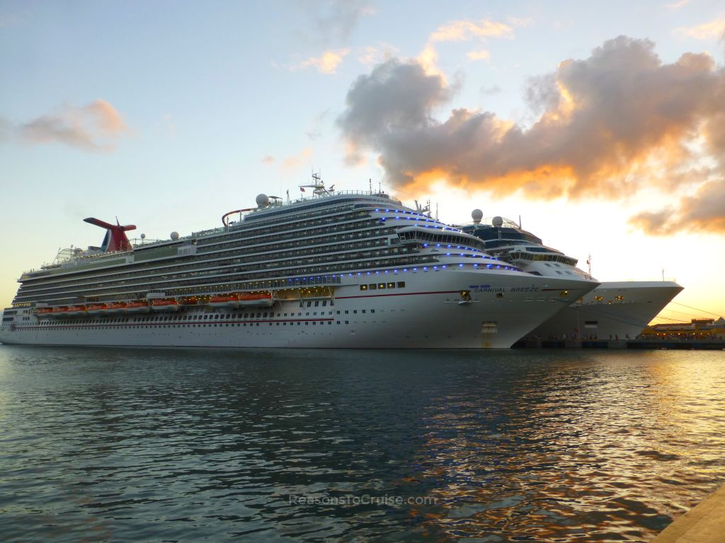 Carnival Breeze in San Juan, Puerto Rico