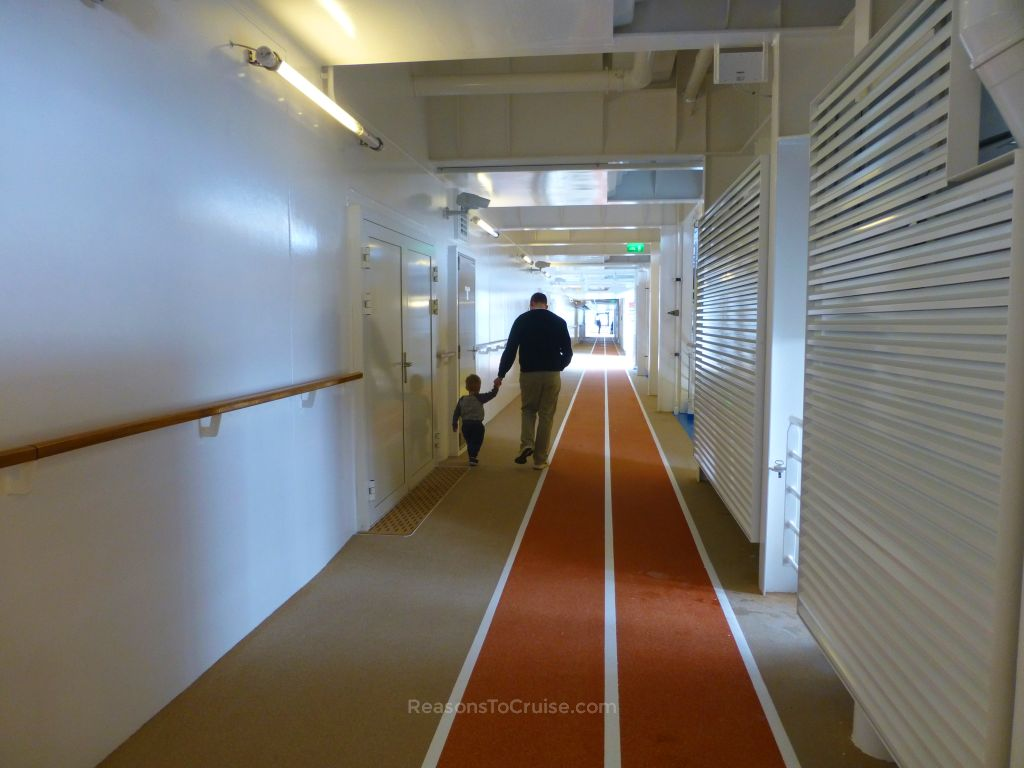 Walking on Harmony of the Seas