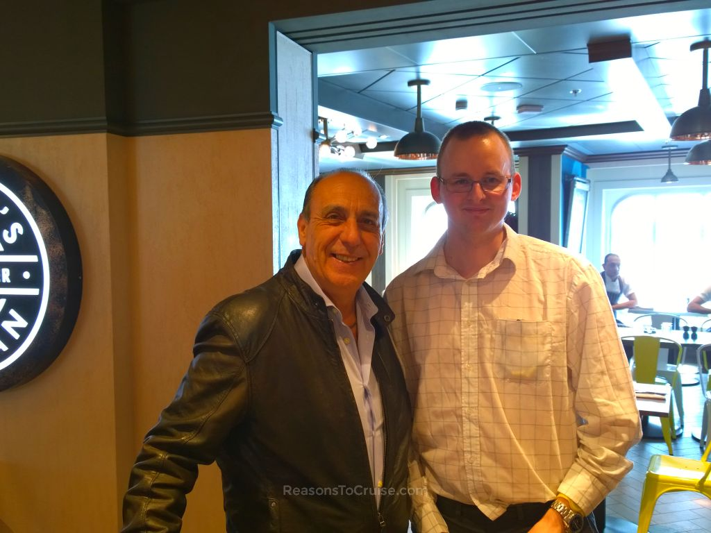Gennaro Contaldo and David Fiske