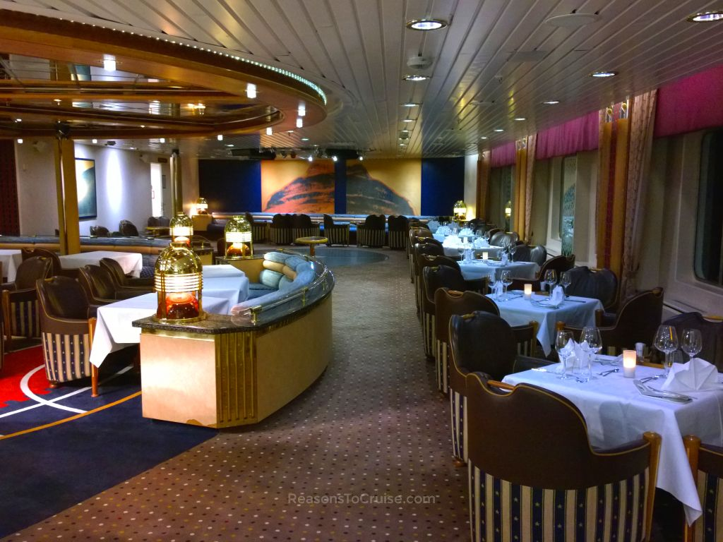 Hurtigruten's Coastal Kitchen à la carte restaurant