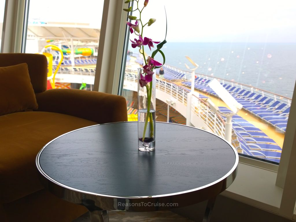 Suite Lounge on Harmony of the Seas