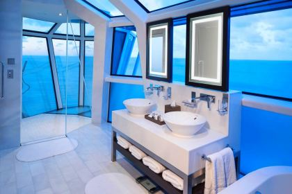 Celebrity Reflection Suite Bathroom