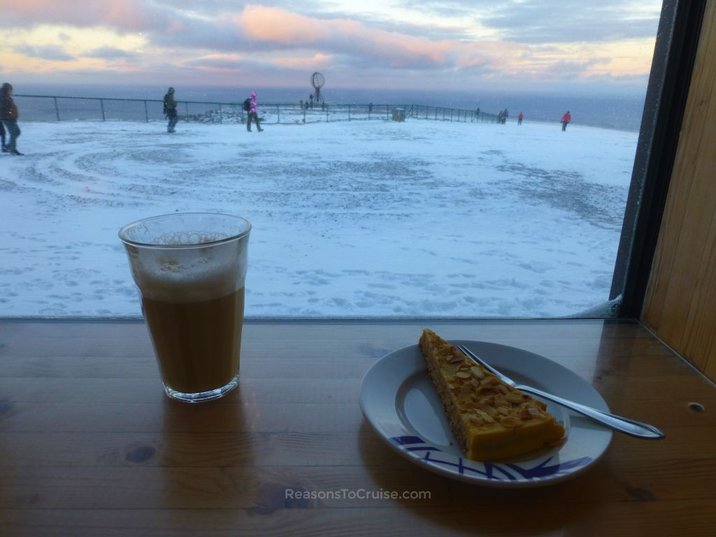 Europe's most northerly coffee shop