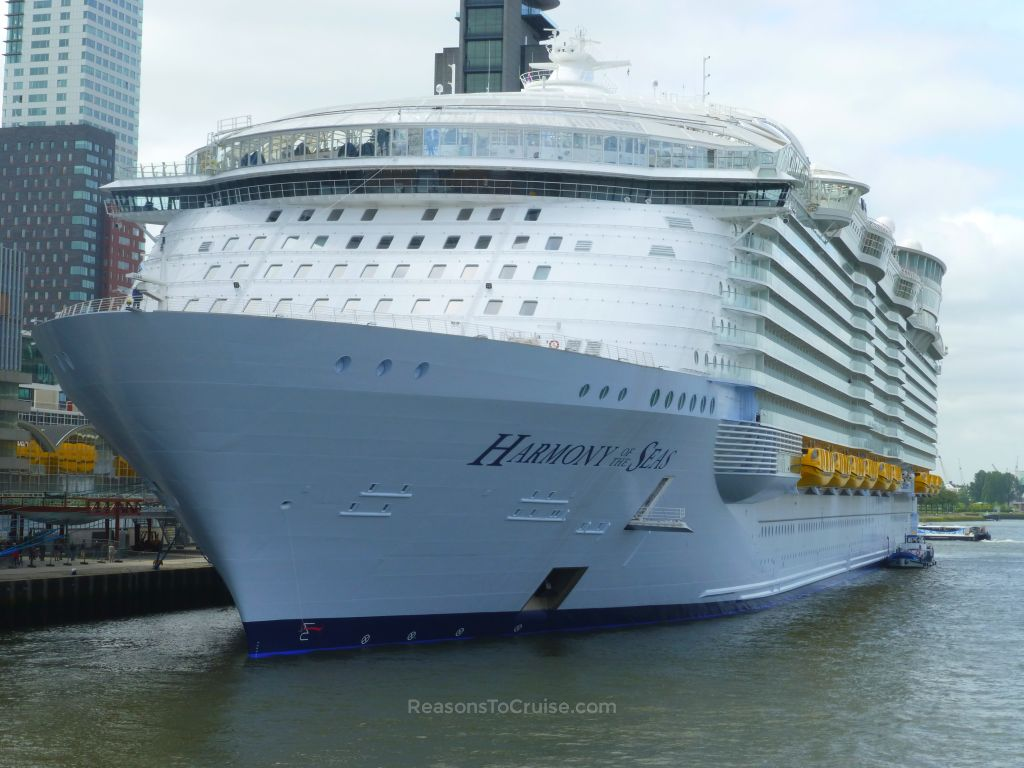 Harmony of the Seas in Rotterdam