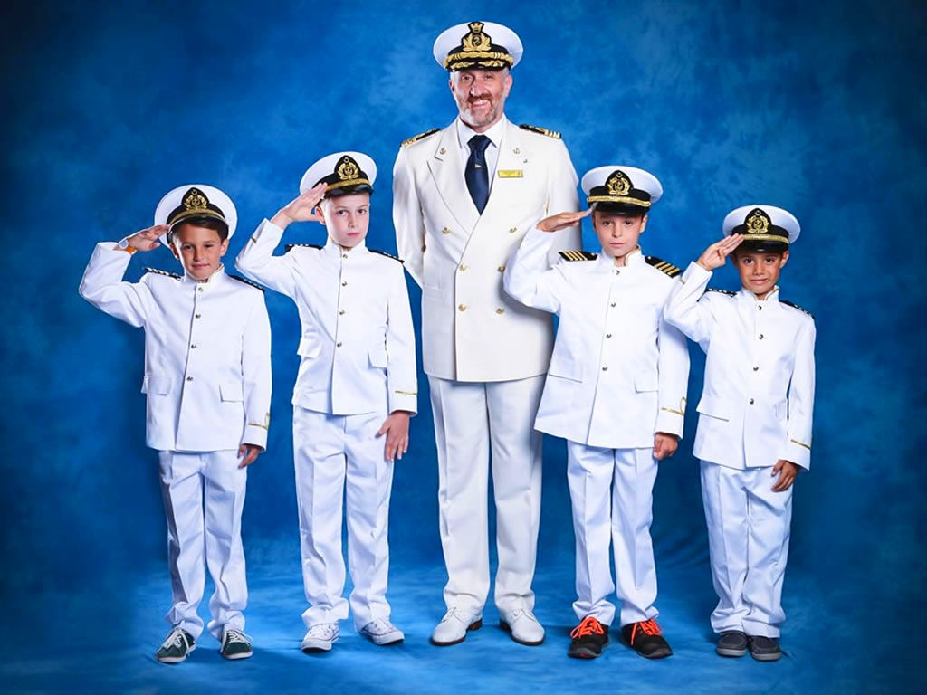 Captain for a Day on Costa Cruises