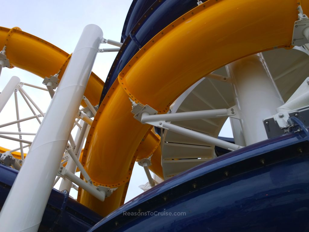 Cyclone and Typhoon water slides