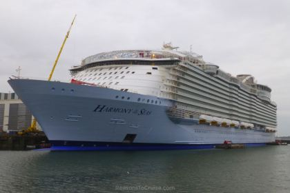 Harmony of the Seas at STX France